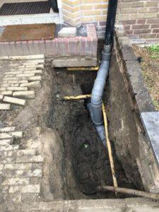 riolering vervangen en aanleggen Spijkenisse